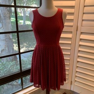 LAUREN CONRAD Fit & Flare Dress